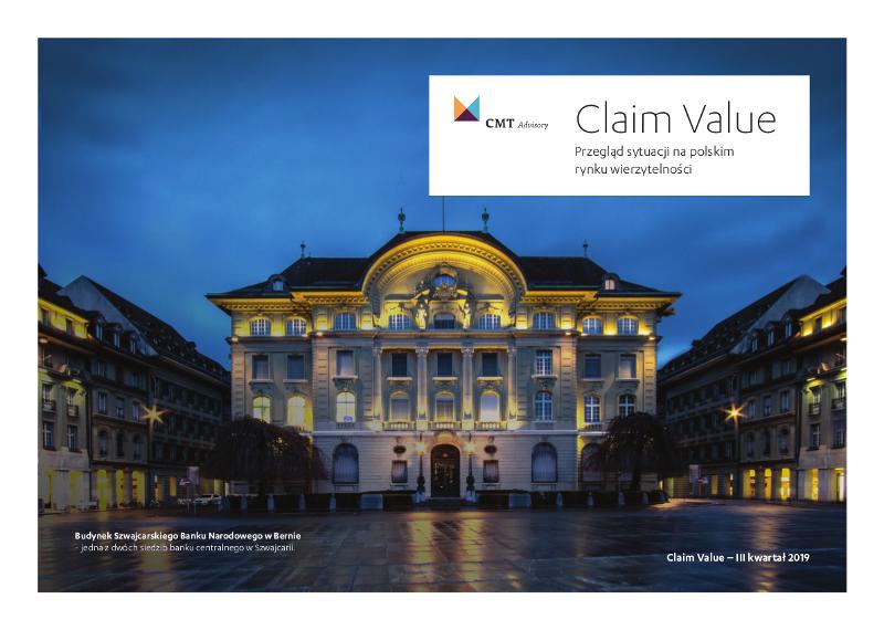 Claim Value | Sytuacja na polskim rynku wierzytelności - raport za III kwartał 2019 roku